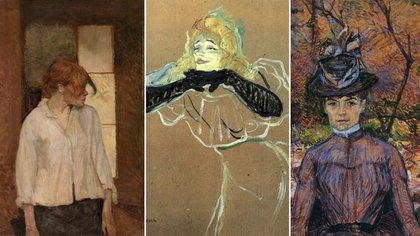 "Rosa ""La Rouge"", Yvette Guilbert y Suzanne Valadon"