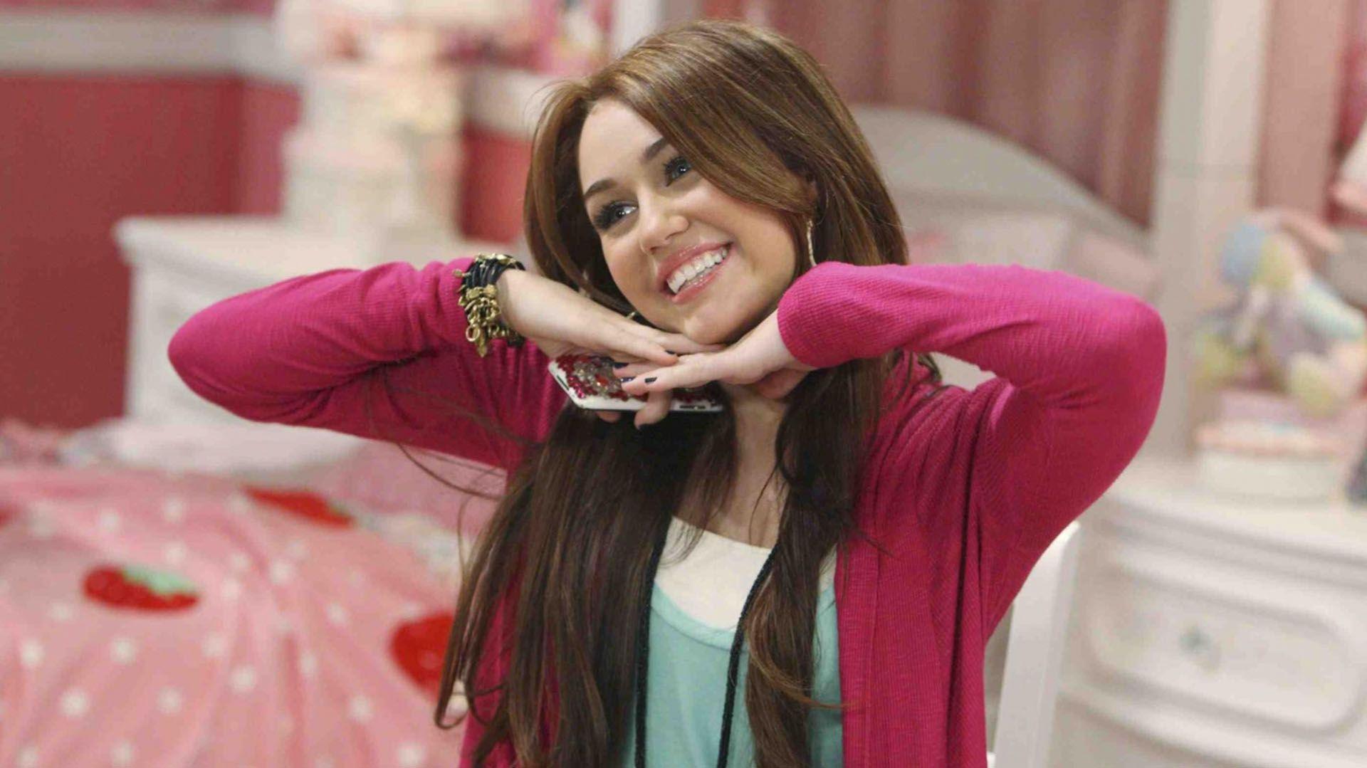 """En su época de """"Hannah Montana"""""""