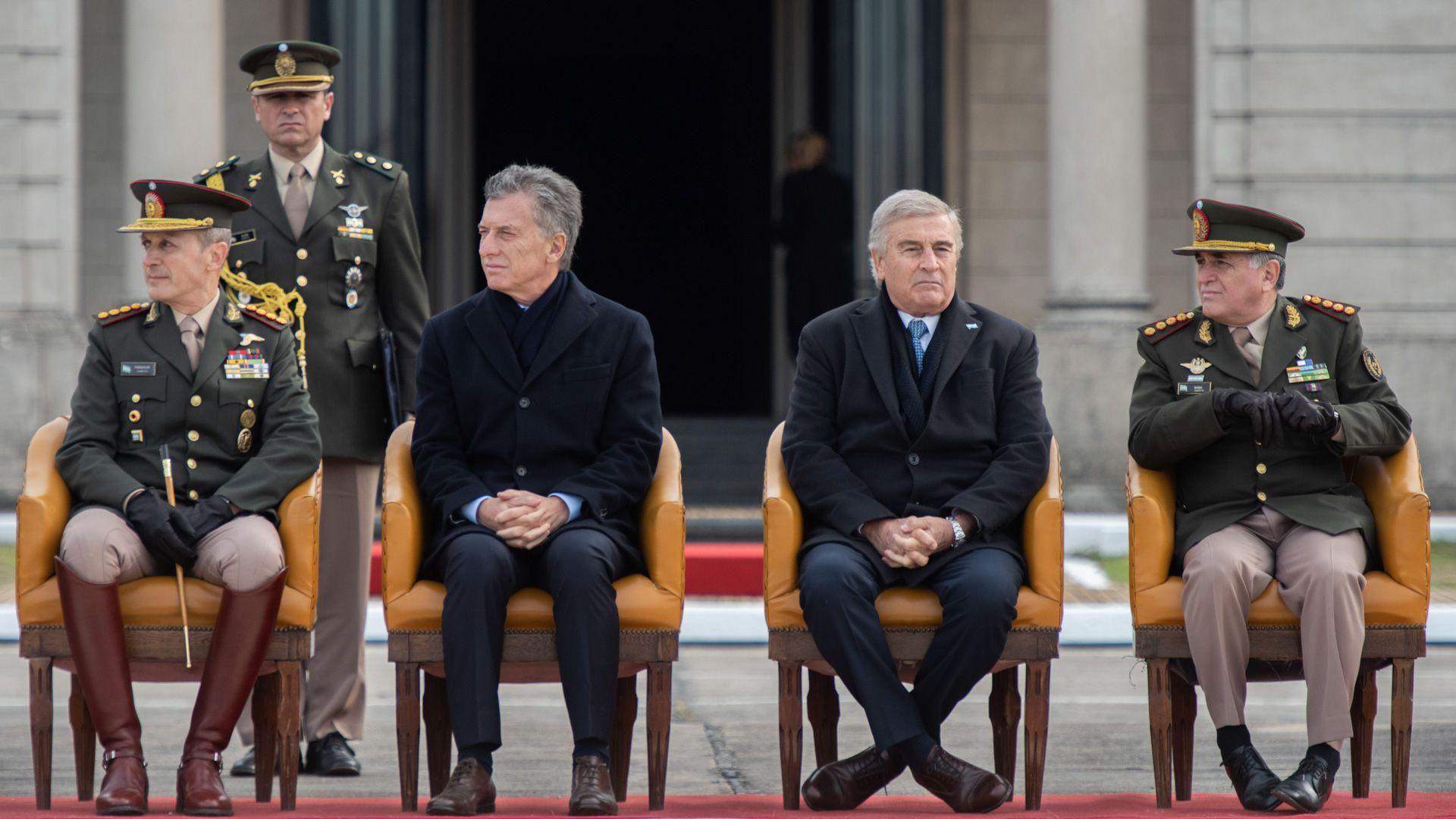 Macri en el Día del Ejército