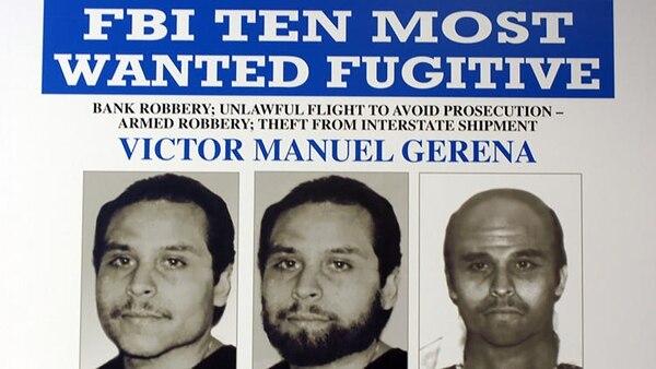 Victor Manuel Gerena, el fugitivo que estuvo más tiempo en la lista de Los 10 más buscados y nunca fue hallado.