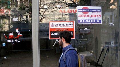 La cuarentena extendida forzó el cierre definitivo de muchos locales comerciales (Nicolás Stulberg)
