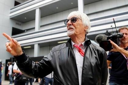 Ecclestone fue un hombre que dominó la organización de la F1 durante décadas hasta 2017 (REUTERS/Maxim Shemetov)