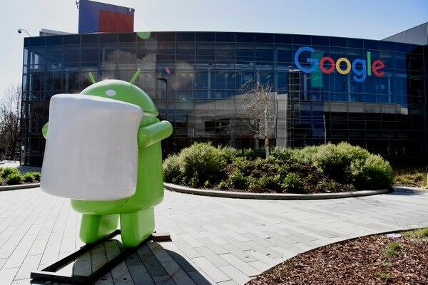 La sede central de Google en Mountain View (Bloomberg photo by Michael Short)