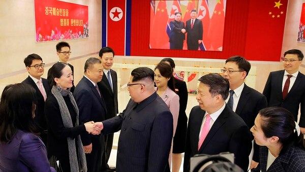 El líder en una visita a China (AFP)