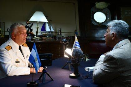 El Capitán de Navío Romay en diálogo con Infobae (Claudia Ferreyra)