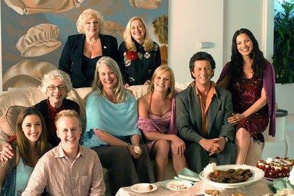 En 2004 se reunió todo el elenco de