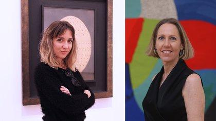 Victoria Cobos y Sofía Weil de Speroni