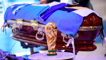 Los restos de Maradona se velaron en la Casa Rosada  (Presidencia)