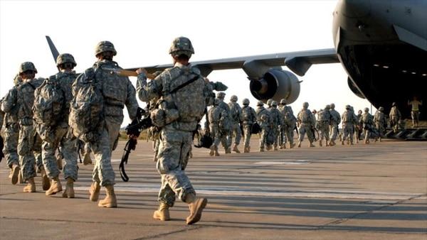 EEUU enviará 400 hombres a Uruguay