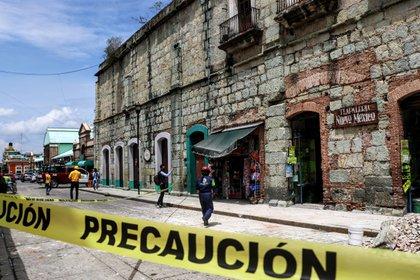 En Oaxaca también se suspendió el simulacro para el próximo 19 de septiembre (Foto: Patricia Castellanos/AFP)
