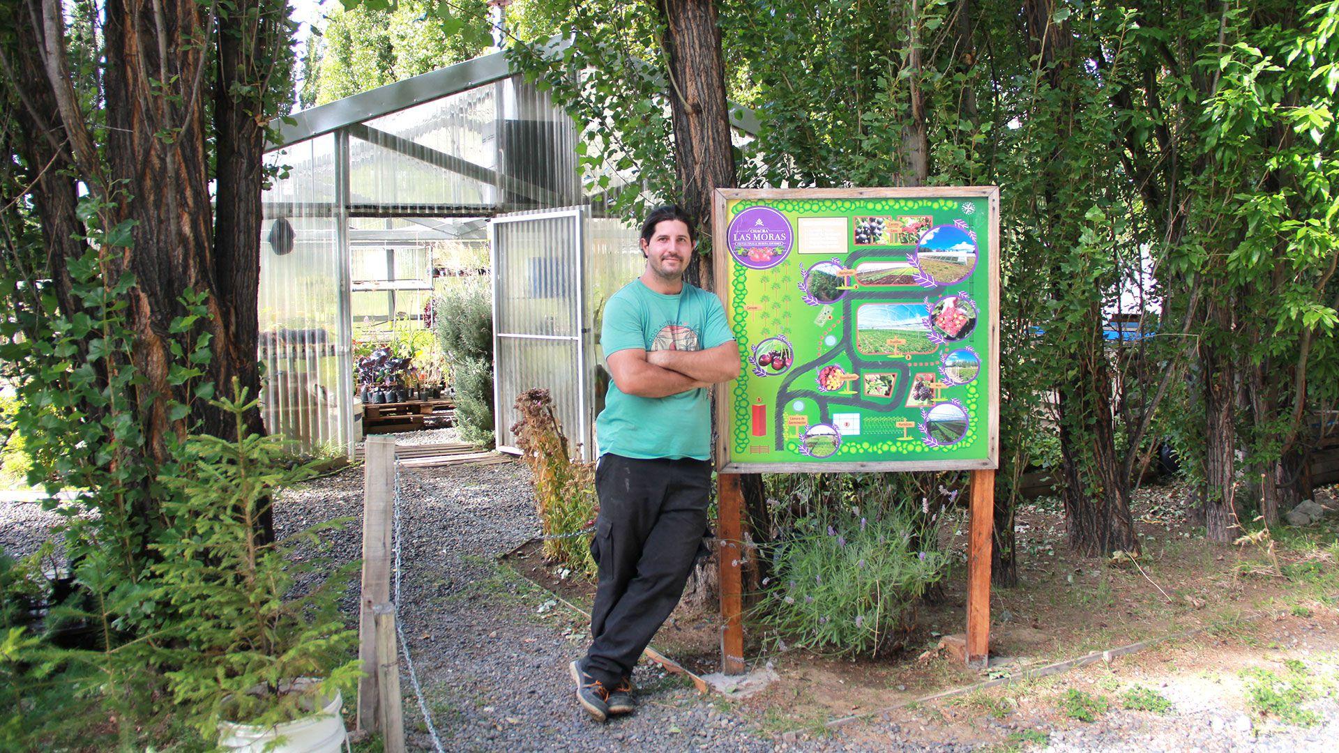 Pablo Morresi Las Moras Calafate Frutihorticultura Hidroponia