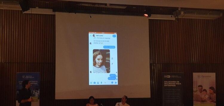 Nati Luetto, un chatbot para concientizar sobre la difusión de imágenes íntimas sin consentimiento.