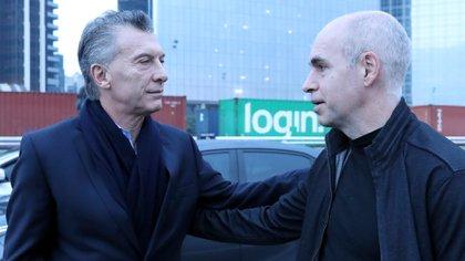 Macri et Rodríguez Larreta, deux positions différentes au sein du système d'opposition (NA)