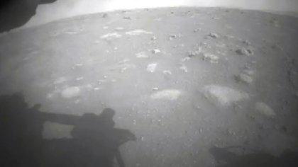 La primera imagen enviada por Perseverance de la superficie de Marte desde el cr�ter Jezero (NASA)