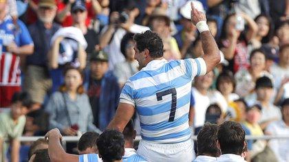 El plantel argentino despidió a Leguizamón (EFE)