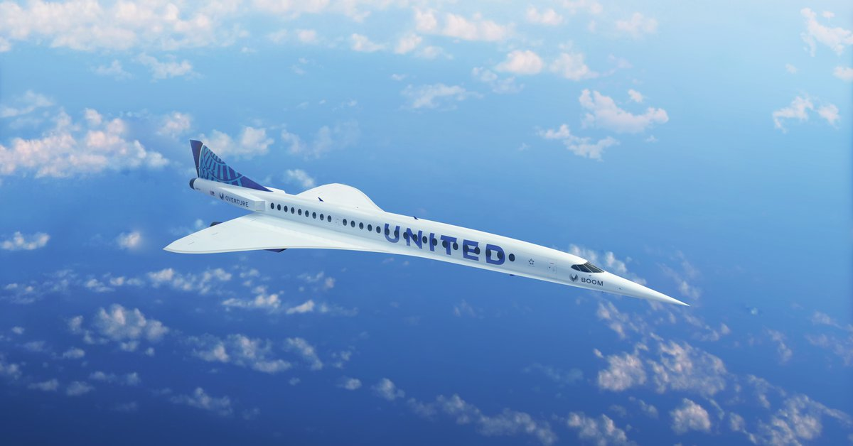 From New York to London in 3.5 hours: United Airlines to buy 15 supersonic jets