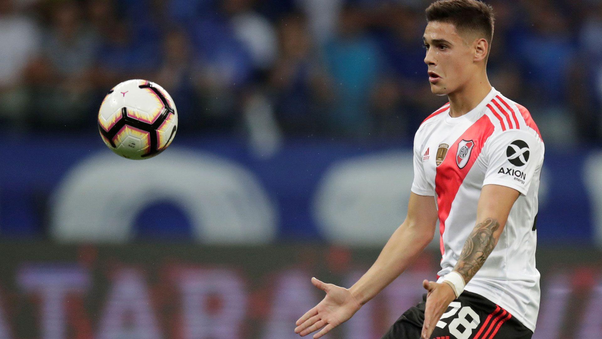 En los próximos días, el Millonario podría recibir una oferta formal por Lucas Martínez Quarta de parte del Betis, cuyo DT es Manuel Pellegrini