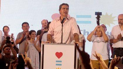 El gobernador de Chaco, Jorge Capitanich, otro de los candidatos a la conducción del PJ (Télam)