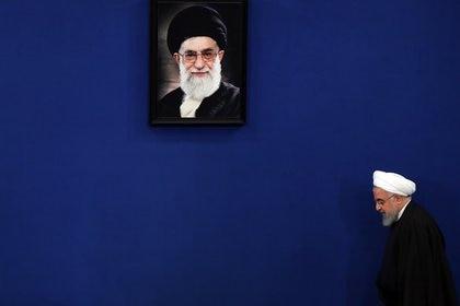 El presidente iraní, Hassan Rohaní. EFE/EPA/ABEDIN TAHERKENAREH/Archivo