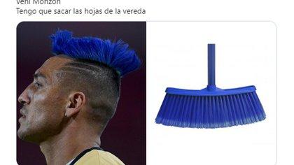 Los memes sobre el look de Monzón