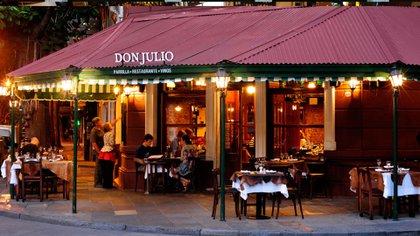 Especial restaurante para quienes desean disfrutar de un típico asado argentino (Don Julio)