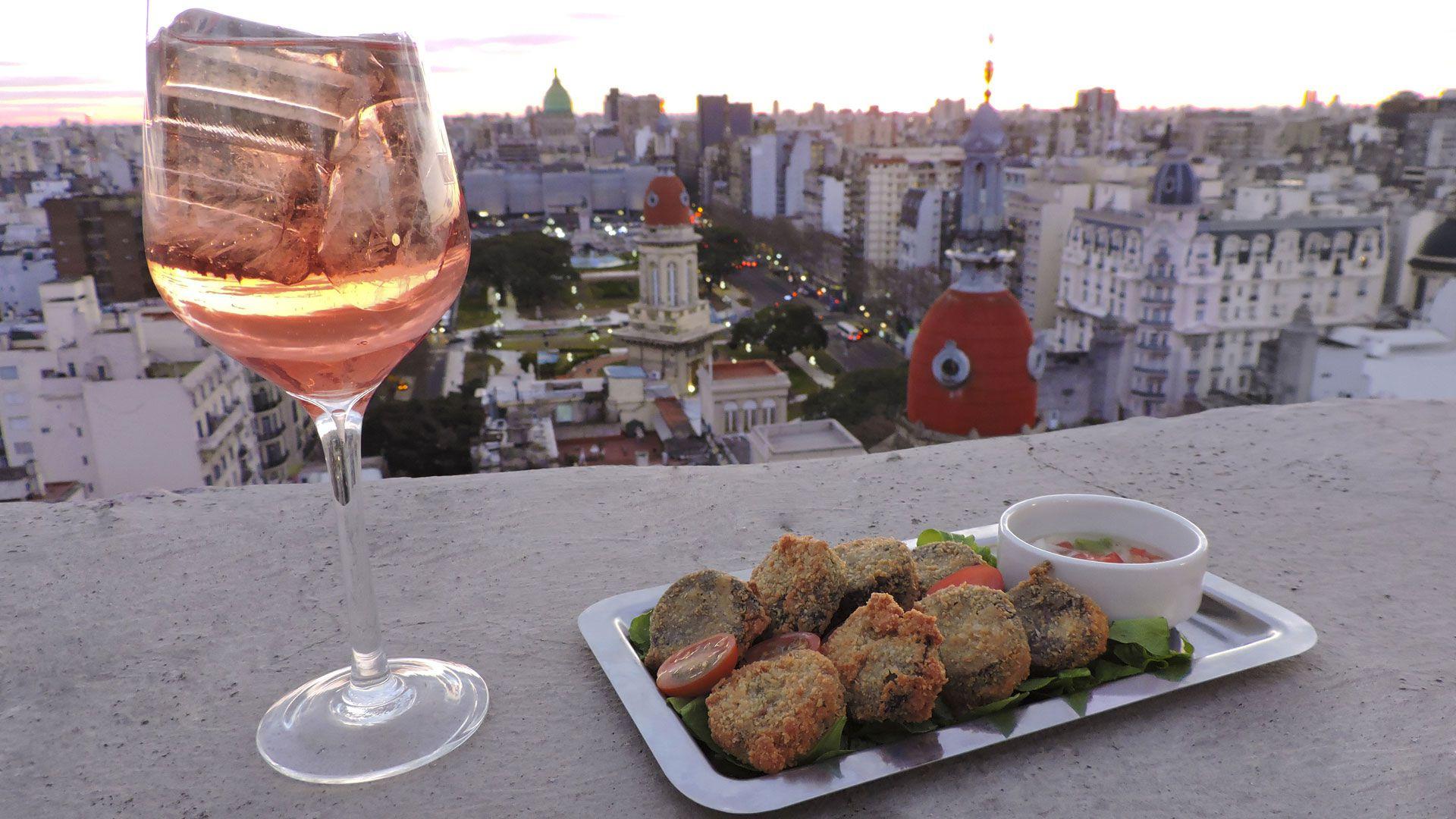 Las vistas desde el rooftop del Palacio Barolo