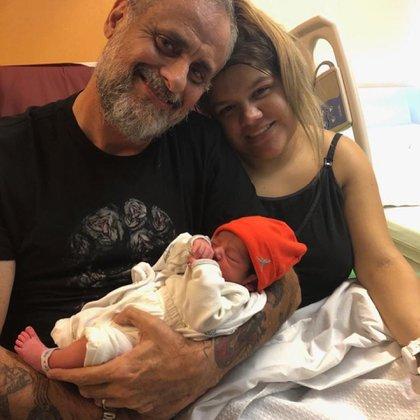 La primera foto de Jorge Rial junto a su nieto y su hija