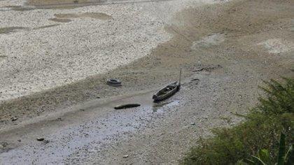 El caudal del afluente tuvo una reducción del 10%, la más baja en la historia del país.
