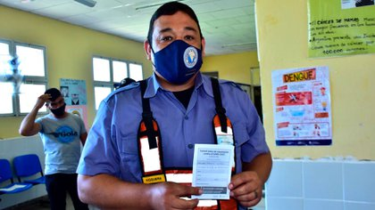Formosa inició el plan de vacunación contra el COVID-19: arrancó por el personal sanitario y de seguridad