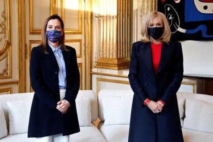 La doctora en literatura visitó jefes de Estado para negociar el préstamo e las piezas (Foto: Thibault Camus / Pool vía Reuters)