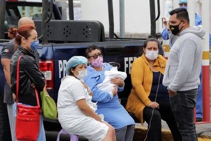 También destacó que los los cinco Centros de Aislamiento Voluntario se encuentran a una capacidad del 5 por ciento. (Foto: Imelda Medina/Reuters)