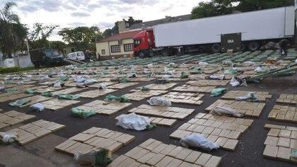 En los últimos cuatro años, el Estado Nacional ha mostrado claros avances en su lucha contra el narcotráfico. Foto: Archivo DEF.