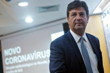 Luiz Henrique Mandetta, ministro de Salud de Brasil (REUTERS/Adriano Machado)