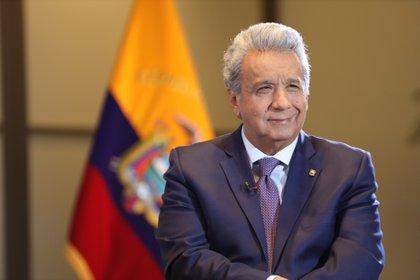 Lenin Moreno, presidente de Ecuador, cuya renegociación de deuda criticó Alberto Fernández.
