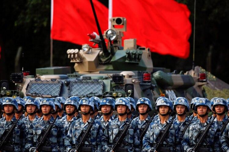 El presupuesto de defensa chino se ha multiplicado desde la llegada de Xi Jinping al poder