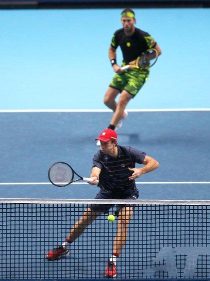 El dúo Jebelos-Granollers quiere hacer historia en los dobles de las Finales ATP (AP).