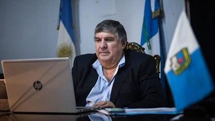 José Mayans, titular del bloque del Frente de Todos (Foto: Senado)