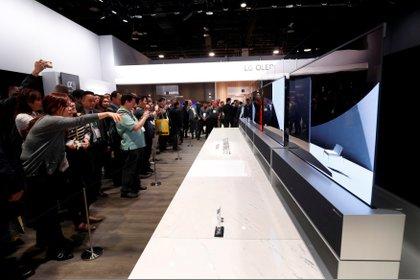 Durante el CES 2020 se darán a conocer importantes innovaciones para la industria de las pantallas y centros de entretenimiento.. (Foto: Steve Marcus/Reuters)