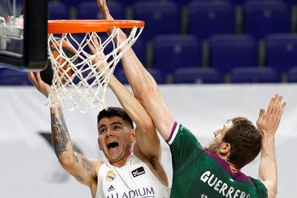 Gabriel Deck dejará el Real Madrid de España y jugará en la NBA (Foto: EFE)