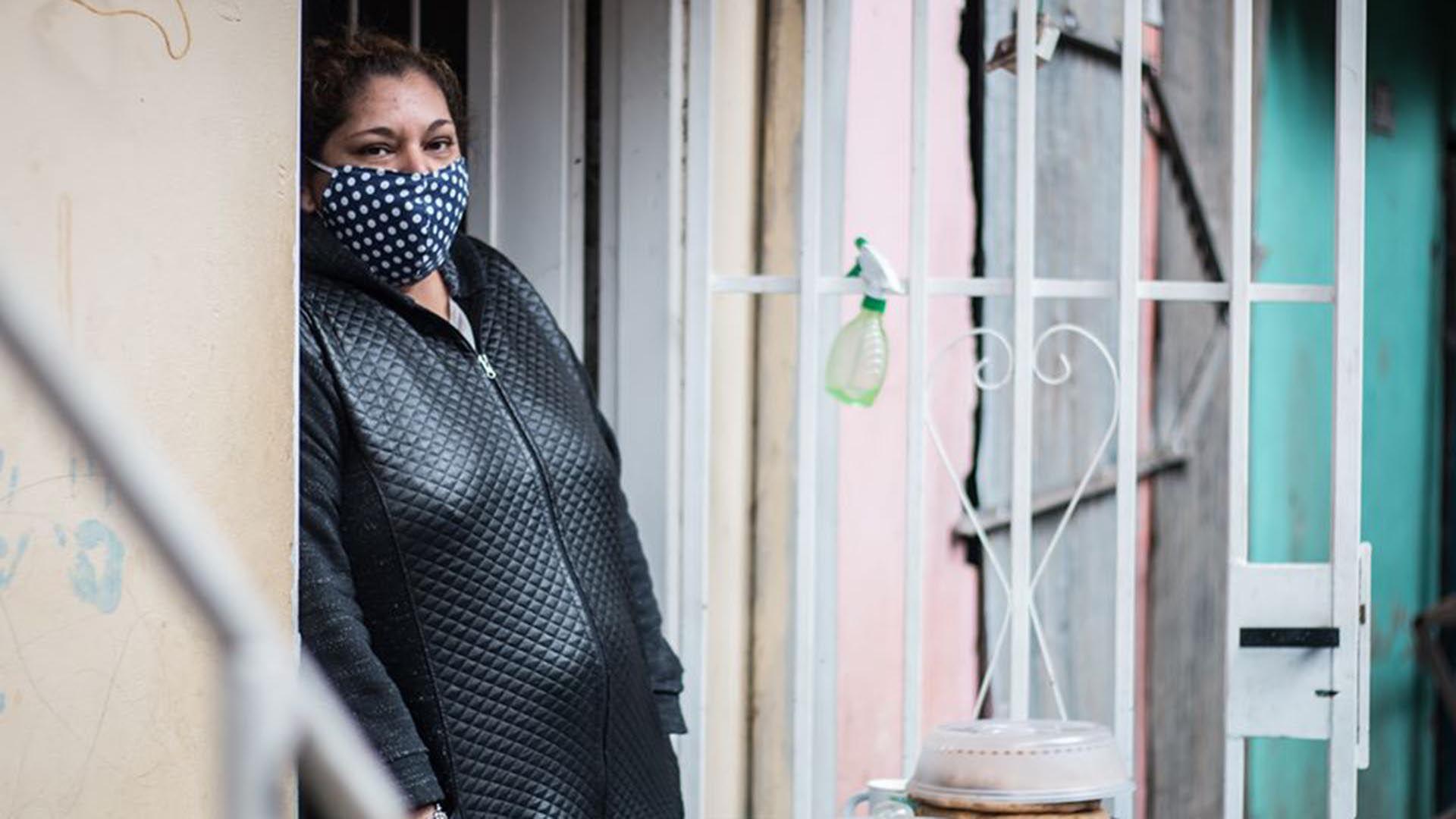 Ramona Medina en la Villa 31