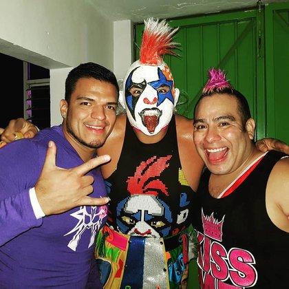 La Máscara Psycho clown y Máximo son familiares (Foto: Instagram @psychoclown1)