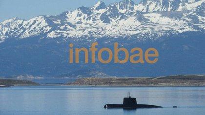 Esta foto fue tomada el 7 de noviembre de 2017, en Ushuaia después de realizar maniobras de prueba de evasión de lancha antisubmarina. Fue una de las últimas imágenes antes de hundirse, ocho días después.
