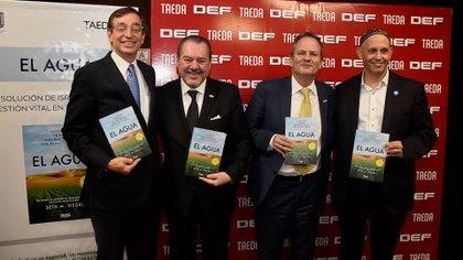 Seth Siegel, Mario Montoto, Ilán Sztulman y Sergio Bergman