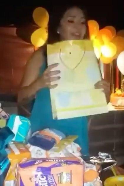 Hace algunas semanas la joven celebró su baby shower sin imaginar el trágico futuro que vendría Foto: Facebook/Mónica Torres