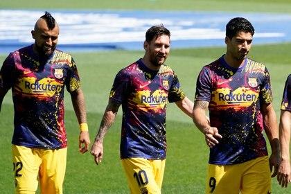 El Barcelona retomará los entrenamientos este martes (Reuters)