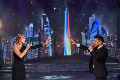 Paula Trapani debutó en el Cantando con solo dos días de ensayo (Jorge Luengo / LaFlia)