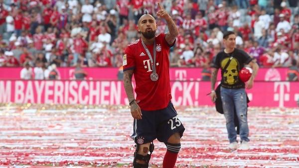 El chileno llegó al Bayern Munich, proveniente de la Juventus