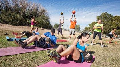 Los espacios públicos funcionan como un gimnasio al aire libre