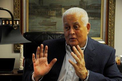 En la imagen, el expresidente de Panamá Ernesto Perez Balladares. EFE/Arturo Wong/Archivo