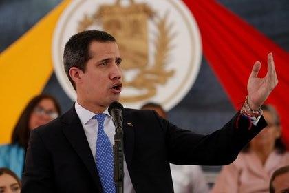 El gobierno de Lacalle Pou reconoce a Juan Guaidó como presidente interino de Venezuela (REUTERS/Manaure Quintero)